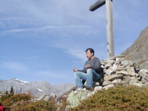 Mingtang in Swiss Alps